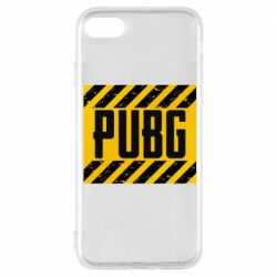 Чехол для iPhone 8 PUBG and stripes