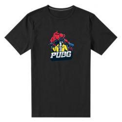 Чоловіча стрейчева футболка Pubg art 1