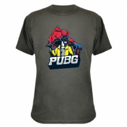 Камуфляжна футболка Pubg art 1
