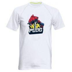 Чоловіча спортивна футболка Pubg art 1