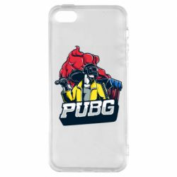 Чехол для iPhone5/5S/SE Pubg art 1
