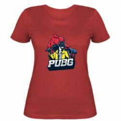 Жіноча футболка Pubg art 1