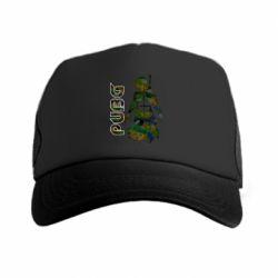 Кепка-тракер Pubg camouflage silhouette