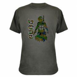 Камуфляжна футболка Pubg camouflage silhouette