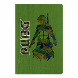 Блокнот А5 Pubg camouflage silhouette