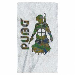 Рушник Pubg camouflage silhouette