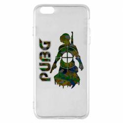 Чохол для iPhone 6 Plus/6S Plus Pubg camouflage silhouette