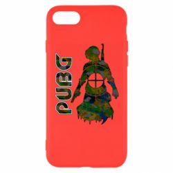 Чохол для iPhone 7 Pubg camouflage silhouette