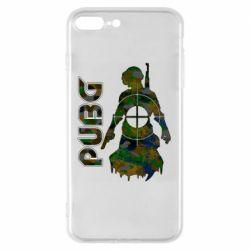 Чохол для iPhone 7 Plus Pubg camouflage silhouette