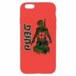 Чохол для iPhone 6 Pubg camouflage silhouette