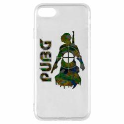 Чохол для iPhone 8 Pubg camouflage silhouette
