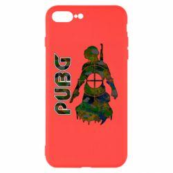 Чохол для iPhone 8 Plus Pubg camouflage silhouette