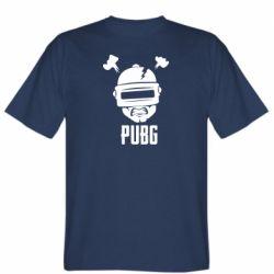 Мужская футболка PUBG: hero face