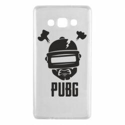 Чехол для Samsung A7 2015 PUBG: hero face
