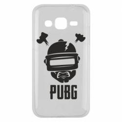 Чехол для Samsung J2 2015 PUBG: hero face