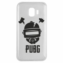 Чехол для Samsung J2 2018 PUBG: hero face
