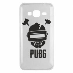 Чехол для Samsung J3 2016 PUBG: hero face
