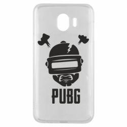 Чехол для Samsung J4 PUBG: hero face