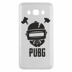 Чехол для Samsung J5 2016 PUBG: hero face