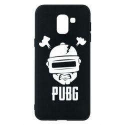 Чехол для Samsung J6 PUBG: hero face