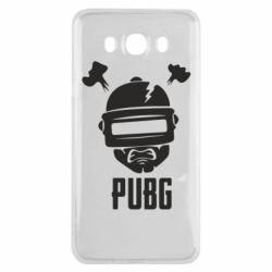 Чехол для Samsung J7 2016 PUBG: hero face