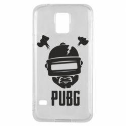 Чехол для Samsung S5 PUBG: hero face