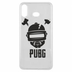 Чехол для Samsung A6s PUBG: hero face