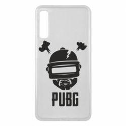 Чехол для Samsung A7 2018 PUBG: hero face
