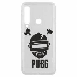 Чехол для Samsung A9 2018 PUBG: hero face