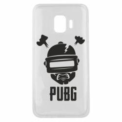 Чехол для Samsung J2 Core PUBG: hero face