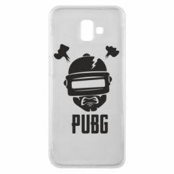 Чехол для Samsung J6 Plus 2018 PUBG: hero face