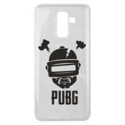 Чехол для Samsung J8 2018 PUBG: hero face