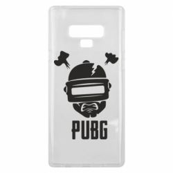 Чехол для Samsung Note 9 PUBG: hero face
