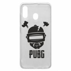 Чехол для Samsung A30 PUBG: hero face