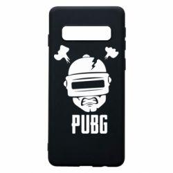Чехол для Samsung S10 PUBG: hero face