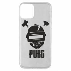 Чехол для iPhone 11 PUBG: hero face