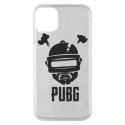 Чехол для iPhone 11 Pro PUBG: hero face