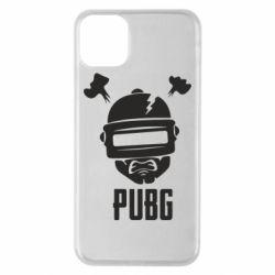 Чехол для iPhone 11 Pro Max PUBG: hero face