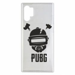 Чехол для Samsung Note 10 Plus PUBG: hero face