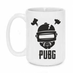Кружка 420ml PUBG: hero face