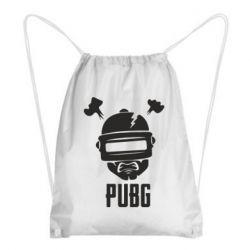 Рюкзак-мешок PUBG: hero face