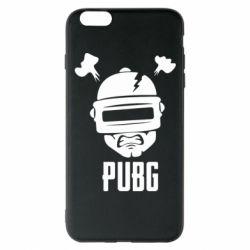 Чехол для iPhone 6 Plus/6S Plus PUBG: hero face