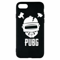 Чехол для iPhone 7 PUBG: hero face