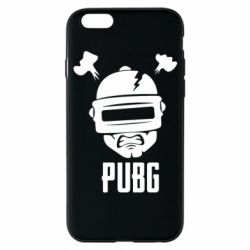 Чехол для iPhone 6/6S PUBG: hero face