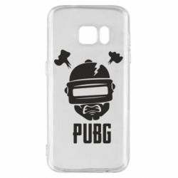 Чехол для Samsung S7 PUBG: hero face
