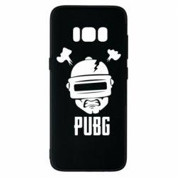 Чехол для Samsung S8 PUBG: hero face