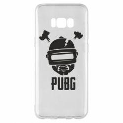 Чехол для Samsung S8+ PUBG: hero face