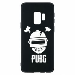 Чехол для Samsung S9 PUBG: hero face