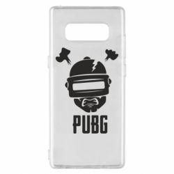 Чехол для Samsung Note 8 PUBG: hero face
