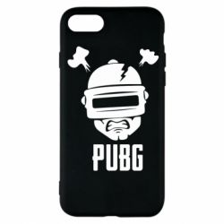 Чехол для iPhone 8 PUBG: hero face
